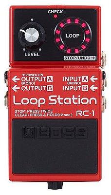Pedal de Repetição Boss Loop Station RC1