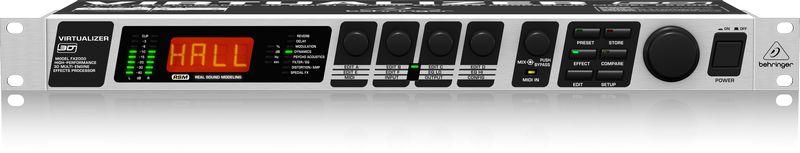 Processador Behringer Virtualizer  3D  FX2000
