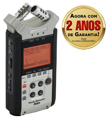 Gravador Digital Potátil H4n SP Handy Recorder