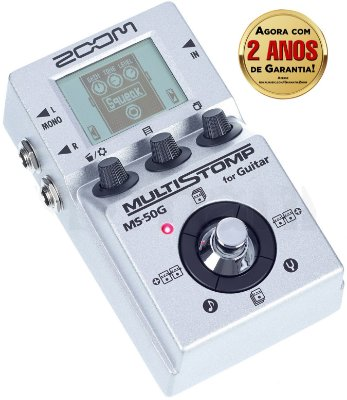 Pedal Zoom MultiStomp MS 50G para Guitarra