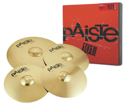 Kit Prato Paiste 101 Brass Universal Set
