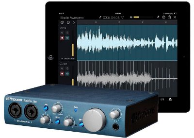 Interface de Áudio PreSonus Audiobox iTwo 2x2 USB