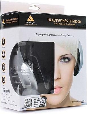 Fone de Ouvido Behringer HPM1000 High Performance Over Ear