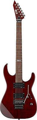 Guitarra ESP LTD M100 FM com Floyd Rose