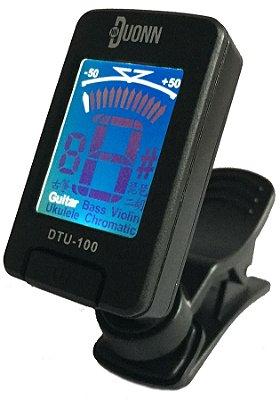 Afinador Digital Dylan Cromático Duonn DTU-100 B