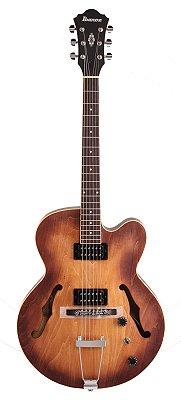 Guitarra Semiacústica Ibanez AF 55 Tobacco Flat