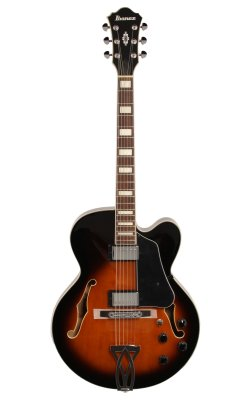 Guitarra Semiacústica Ibanez AF 75 Vintage Sunburst