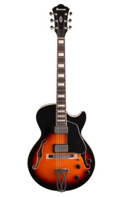 Guitarra Semiacústica Ibanez AG 75 Brown Sunburst