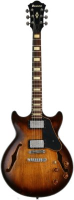 Guitarra Semiacústica Ibanez AMV 10A Tobacco Low Gloss