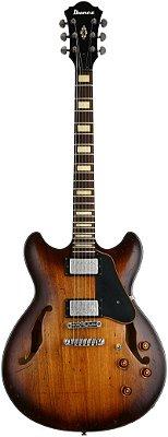 Guitarra Semi-Acústica Ibanez ASV10A Tobacco Burst Low Gloss