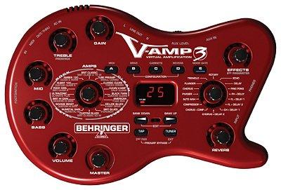 Pedaleira Behringer V-AMP 3 Virtual Amplification