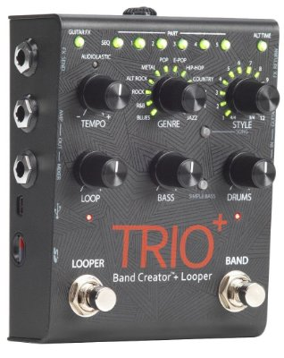 Pedal de Efeitos Digitech Trio Band Creator Plus Looper
