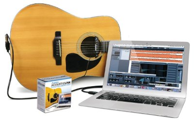 Kit Captador e Interface de Áudio Alesis Acoustic Link USB