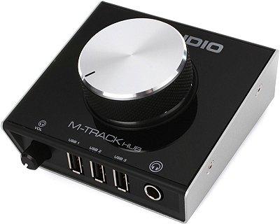 Interface de Monitoramento M-Audio M-Track Hub