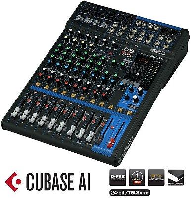 Mesa de som Analógica Yamaha MG12XU USB 12 Canais
