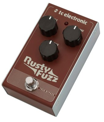 Pedal de Efeitos TC Electronic Rusty Fuzz para Guitarra