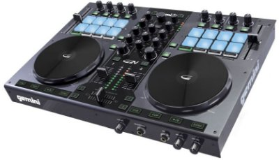 Controladora DJ Gemini G2V USB - 2 Canais