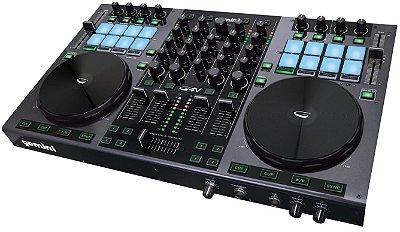 Controladora DJ Gemini G4V USB - 4 Canais