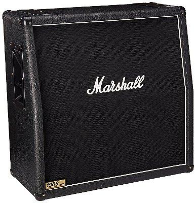 Gabinete Marshall 1960A 300W 4x12 Angulada para Guitarra
