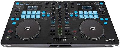 Controladora DJ Gemini GMX USB - 2 Canais