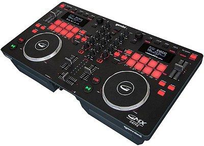 Controladora DJ Gemini GMX Drive USB - 2 Canais