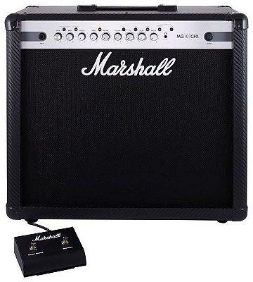 Caixa Amplificada Marshall MG101CFX 100W 1x12 MG Series para Guitarra