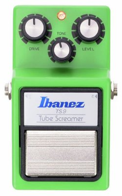 Pedal Ibanez Tube Screamer TS 9 para Guitarra