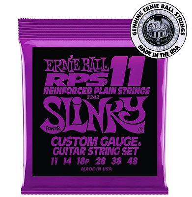 Encordoamento Ernie Ball Power Slinky RPS .011 para Guitarra