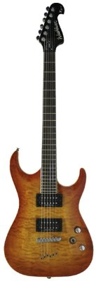Guitarra Washburn X50 Quilted Maple X Series Quilted Carmel Burst com bag