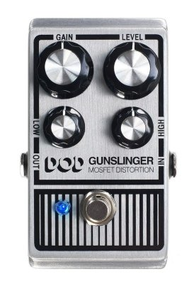 Pedal de Efeitos DOD Gunslinger Mosfet Distortion