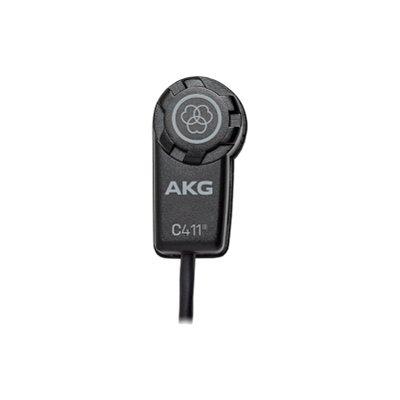 Microfone AKG C411L Mini Condensador para Instrumento