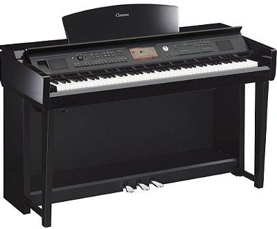 Piano Digital Yamaha Clavinova CVP-705 com Estante