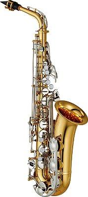 Saxofone Alto Yamaha YAS-26 Eb Laqueado Dourado