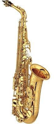 Saxofone Alto Yamaha YAS-875 Ex Custom Eb Laqueado Dourado