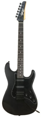 Guitarra Seizi Stone Satin Black com Capa