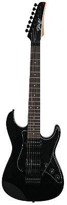 Guitarra 7 Cordas Seizi Ultra 7 Black com Floyd Rose