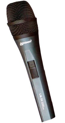 Microfone Dinâmico Lexsen LM-59