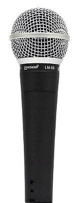 Microfone Dinâmico Lexsen LM-58