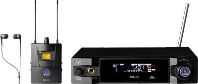 Monitor Sem Fio AKG IVM4500 IEM IP2 In-Ear Set