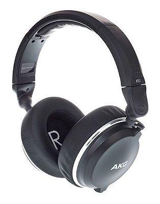 Fone de Ouvido Profissional AKG K182 Over Ear