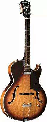 Guitarra Acústica Washburn HB15 CTS Cutaway Tobacco Sunburst com Bag