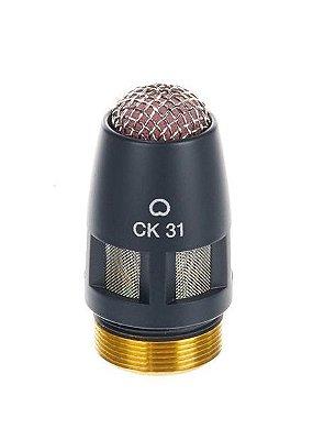 Cápsula AKG CK31 Condensador Cardioide