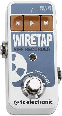 Pedal TC Electronic Wiretap Riff Recorder para Guitarra