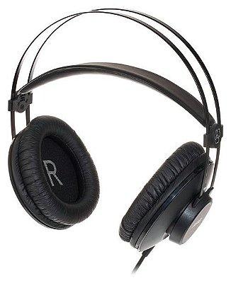 Fone de Ouvido Profissional AKG K52 Over Ear