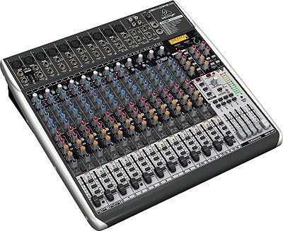 Mesa de Som Behringer Xenyx QX2442 USB 24 Canais