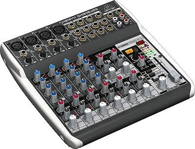 Mesa de Som Behringer Xenyx QX1202 USB 12 Canais