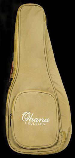 Bag Ohana UB-24 Bege para Ukulele Concert