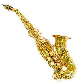 Sax Soprano Curvo Benson Bssc-1l laqueado