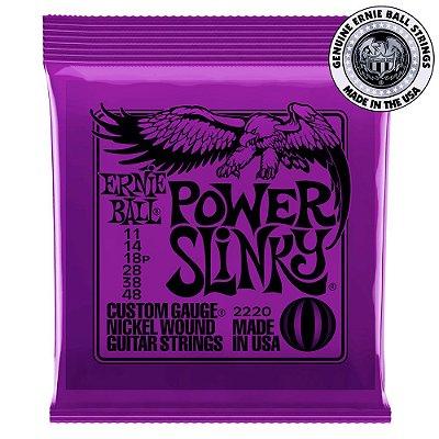 Encordoamento Ernie Ball Power Slinky .011 para Guitarra
