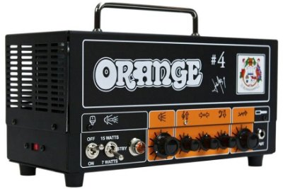 Cabeçote Valvulado Orange Signature #4 Jim Root Terror 7/15W para Guitarra